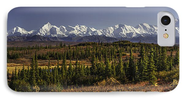 Denali Tundra IPhone Case by Ed Boudreau