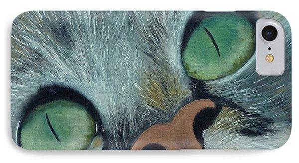 Denise's Cat Jasmine IPhone Case