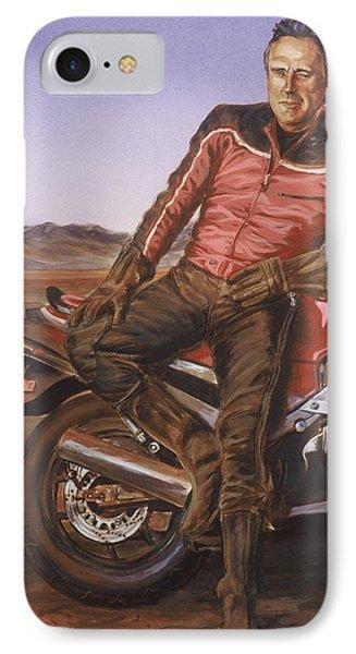 Dennis Hopper Phone Case by Bryan Bustard