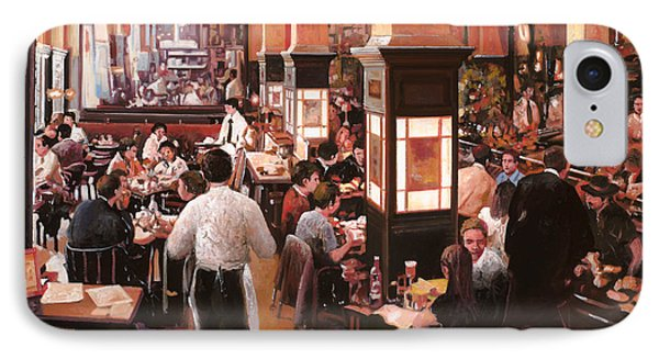 Dentro Il Caffe IPhone Case by Guido Borelli