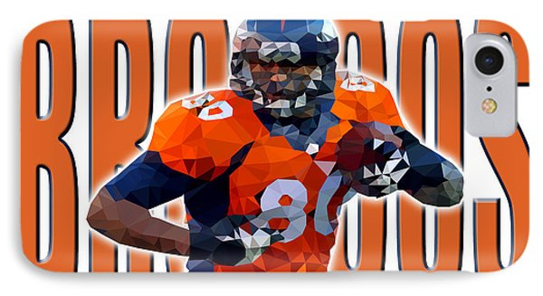 Denver Broncos IPhone Case by Stephen Younts