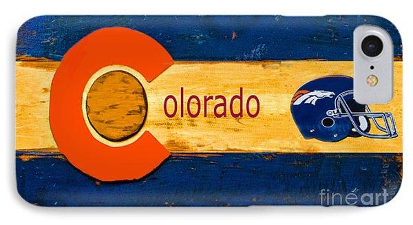 Denver Colorado Broncos 1 IPhone Case