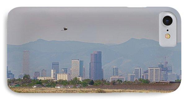 Denver Colorado Pretty Bird Fly By IPhone Case by James BO Insogna