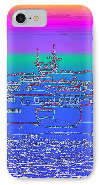 Departing Ferry Phone Case by Tim Allen