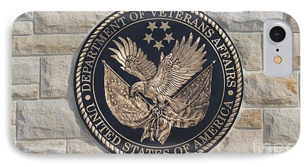 Department Of Vetrans Affairs IPhone Case by Rob Luzier
