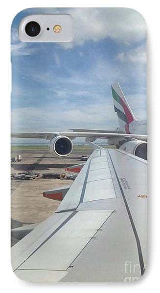 Departure 1 IPhone Case by Karen Moren
