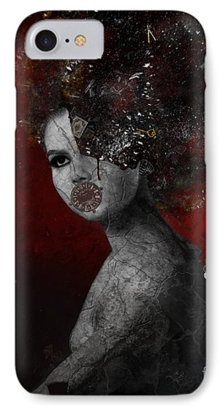 IPhone Case featuring the digital art Deprived by Nola Lee Kelsey