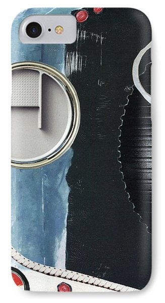 IPhone Case featuring the painting Depth Onto Space by Michal Mitak Mahgerefteh