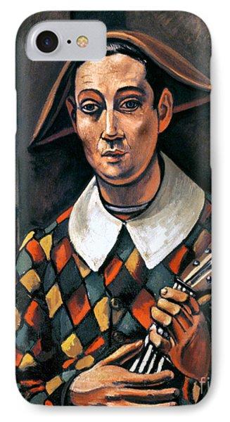 Derain: Harlequin, 1919 Phone Case by Granger