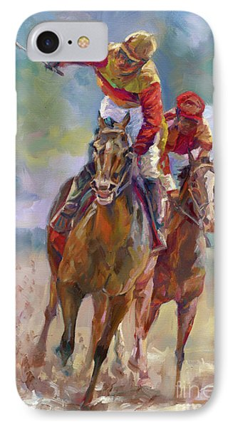 Derby Winner IPhone Case by Laurie Hein