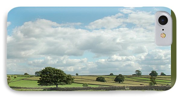 Derbyshire Landscape IPhone Case by Mini Arora