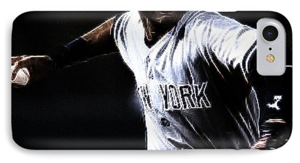 Derek Jeter IPhone 7 Case by Paul Ward