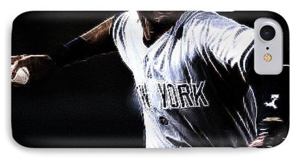 Derek Jeter IPhone Case by Paul Ward