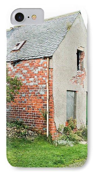 Derelict Hut IPhone Case by Tom Gowanlock