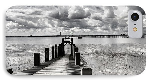 Derelict Wharf Phone Case by Avalon Fine Art Photography