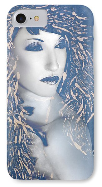 Desdemona Blue - Self Portrait IPhone Case