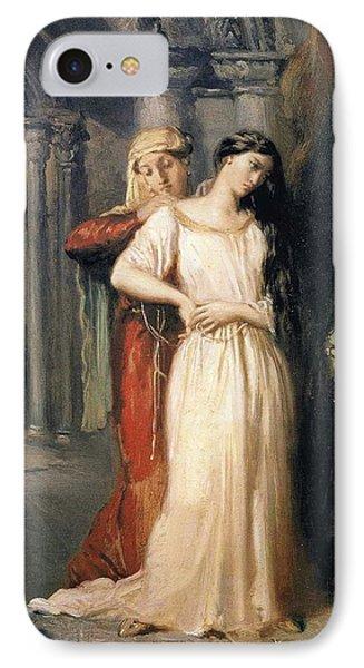 Desdemona Retiring To Her Bed IPhone Case