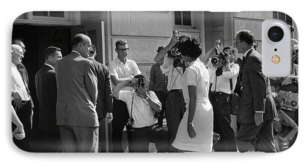 Desegregation, 1963 IPhone Case by Granger