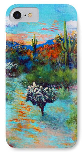 Desert At Dusk IPhone Case