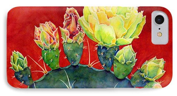 Desert Bloom 3 IPhone Case by Hailey E Herrera
