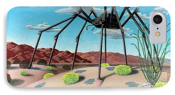 Desert Bug Phone Case by Snake Jagger