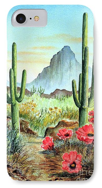 Desert Cacti - After The Rains IPhone Case