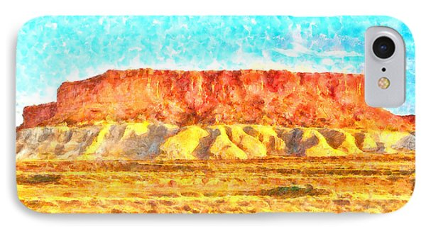 Desert Deck - Pa IPhone Case by Leonardo Digenio