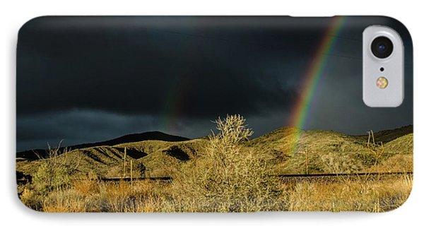 Desert Double Rainbow IPhone Case