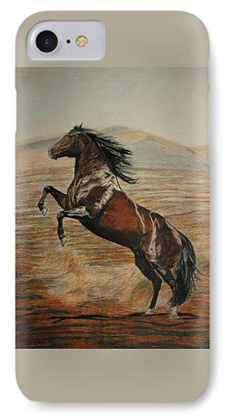 Desert Horse IPhone Case by Melita Safran