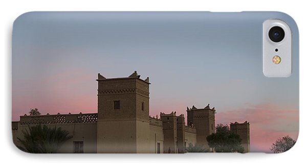 Desert Kasbah Morocco IPhone Case by Kathy Adams Clark