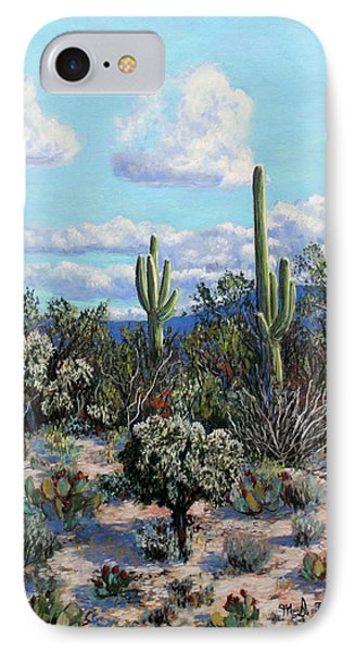 Desert Landscape IPhone Case by M Diane Bonaparte