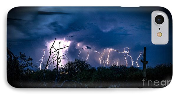 Desert Monsoon IPhone Case by Jon Berghoff