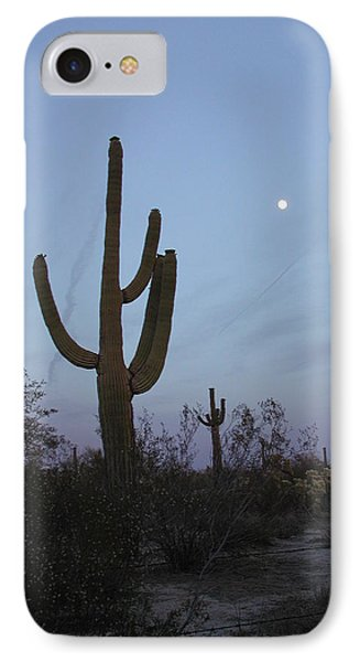 IPhone Case featuring the photograph Desert Moon by Nancy Taylor