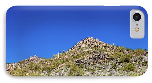 IPhone Case featuring the photograph Desert Mountaintop by Ed Cilley