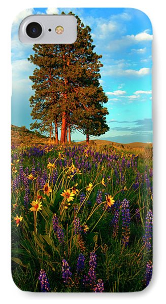 Desert Pines Meadow Phone Case by Mike  Dawson