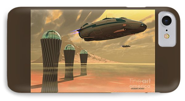 Desert Planet Phone Case by Corey Ford