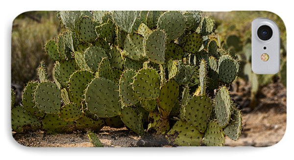 Desert Prickly-pear No6 IPhone 7 Case by Mark Myhaver