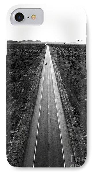 Desert Road Phone Case by Scott Pellegrin