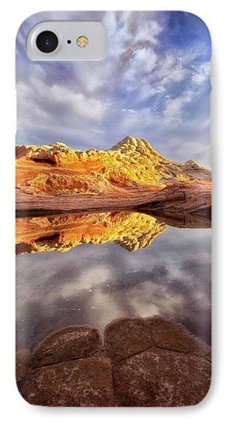 Desert Rock Drama IPhone Case by Nicki Frates
