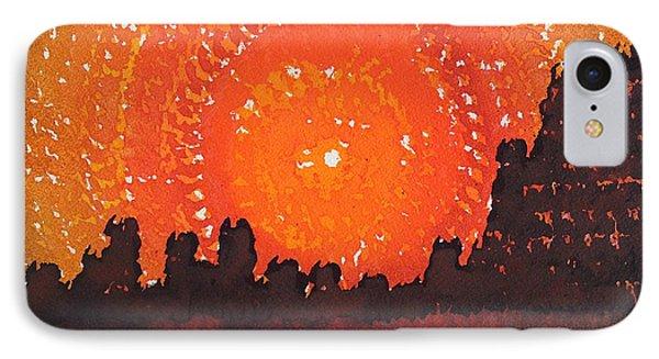 Desert Solstice Original Painting IPhone Case