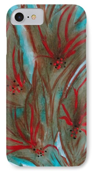 IPhone Case featuring the painting Desert Spirits by Sharyn Winters