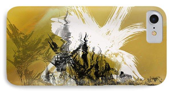 Desert Storm IPhone Case by Art Spectrum