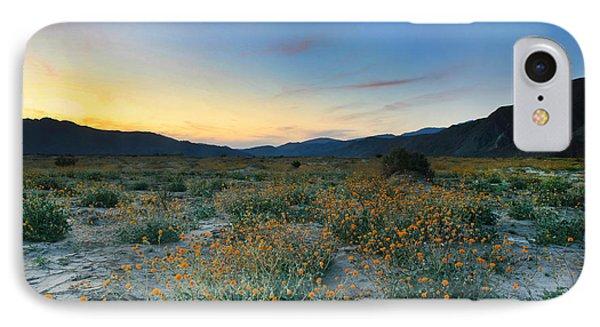 Desert Sunflower Sunset IPhone Case