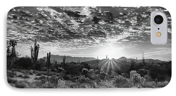 IPhone Case featuring the photograph Desert Sunrise by Monte Stevens