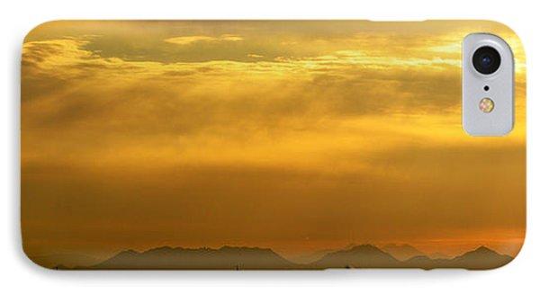 Desert Sunrise Surprise Arizona Photo IPhone Case by Barbara Snyder