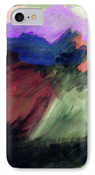 Desert Sunset iPhone 7 Case - Desert Sunset 1- Art By Linda Woods by Linda Woods
