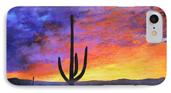 Desert Sunset 4 IPhone Case