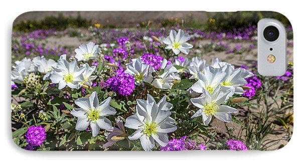 Desert Super Bloom 2017 IPhone Case by Peter Tellone