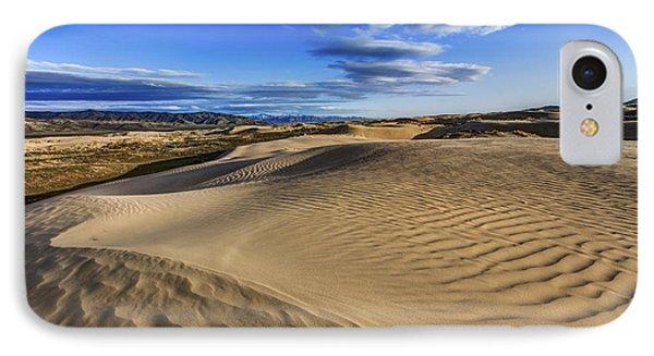 Mountain Sunset iPhone 7 Case - Desert Texture by Chad Dutson