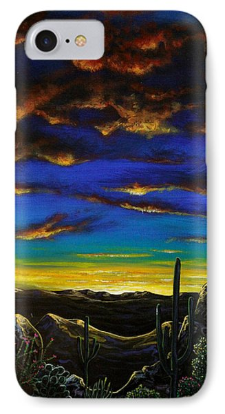 Desert View IPhone Case by Lance Headlee